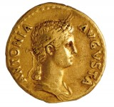 Aureus d'Antonia Minor - Non applicable