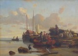 Paysage maritime - Charles Suisse