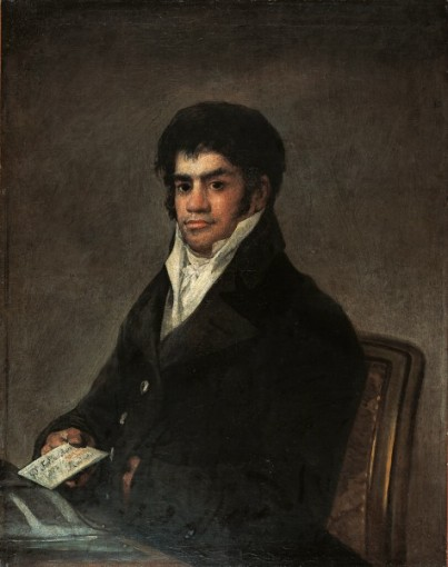 Portrait de Francisco del Mazo