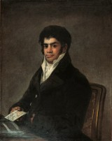 Portrait de Francisco del Mazo - Francisco de Goya y Lucientes