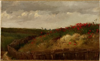 Les Coquelicots - Gustave Courbet