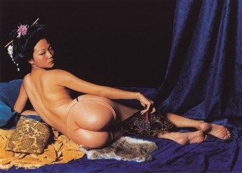 Odalisque after Ingres - Julie Ann