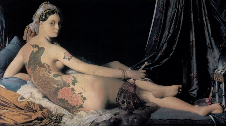 After the Grande Odalisque, Digital Art, Chapter 5 : Analogies